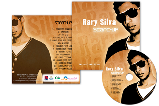 Capa CD Ray Silva