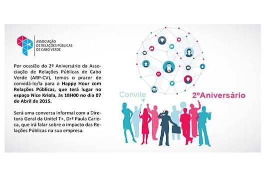 Convite Associação de Relações Públicas de CV