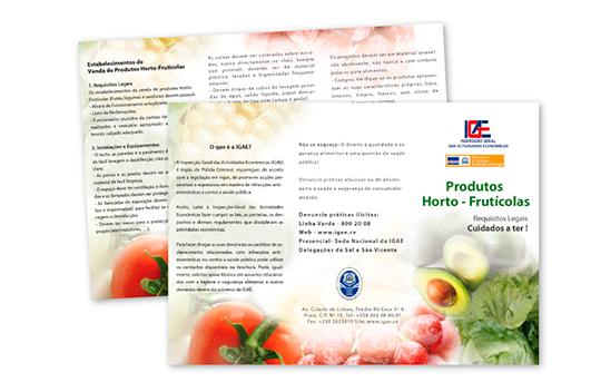 Folheto de Produtos Horto Fruticolas